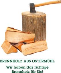Brennholz aus Ostermühl